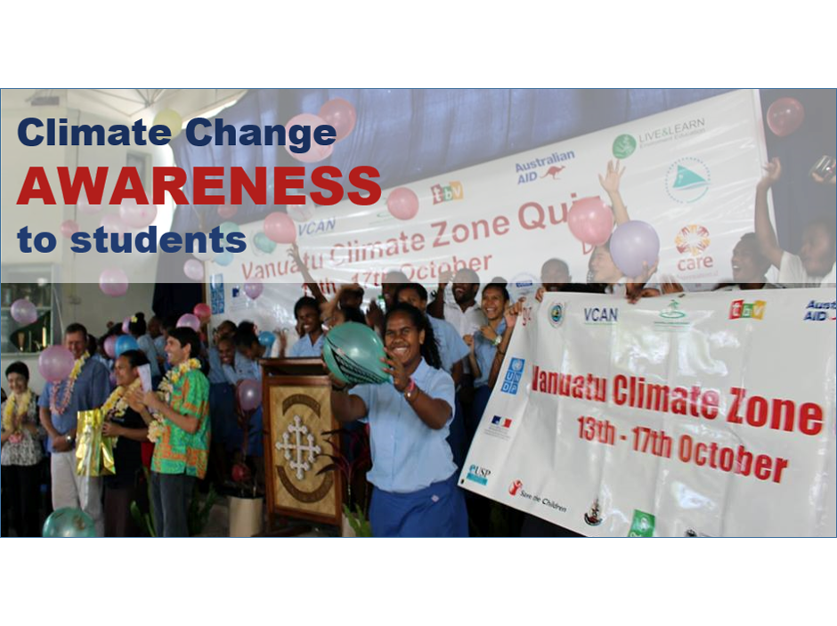 Climate change Awareness to students