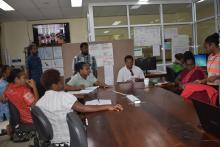 Meeting at NEOC